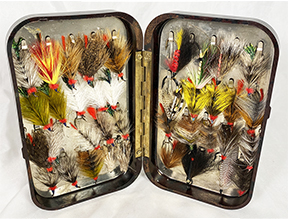 Hardy Neroda Fly Box with Flies