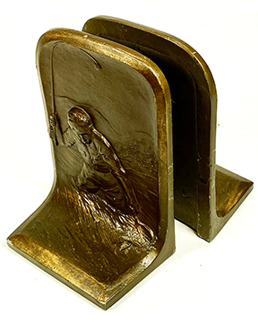 Bookends Fly Fisherman